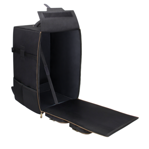 ENHANCE Board Game Backpack - Fits Board Games of all Sizes - Black